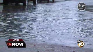 Rain soaks San Diego County