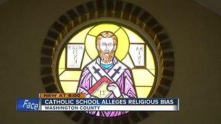 Catholic school alleges religious bias