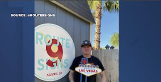 Route 9 Signs brings Welcome to Fabulous Las Vegas sign back to life