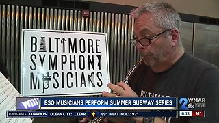 BSO musicians perform summer subway series