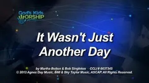 Kids Christmas - It Wasn't Just Another Day