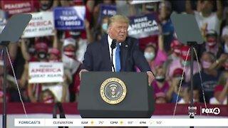 Great American come back event Pres. Trump
