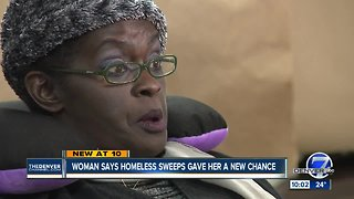 Shelter says Denver homeless sweeps have created some individual success stories
