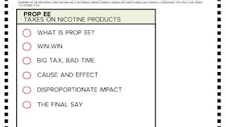 Colorado voters could decide to raise the tobacco tax for the first time in 16 years with Prop. EE