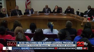 BCSD welcomes new summer learning program
