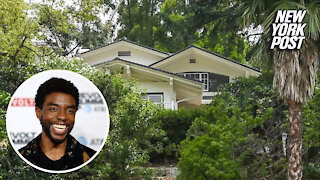 Chadwick Boseman's final home before death — now listed to rent