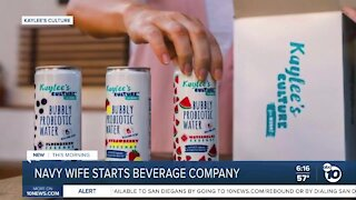 San Diego Navy wife, mother of three launches own probiotic beverage