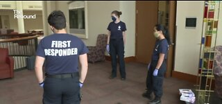 Students running EMS programs at colleges