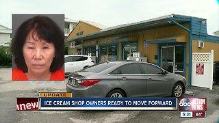 Florida woman accused of urinating in ice cream machine at local shop