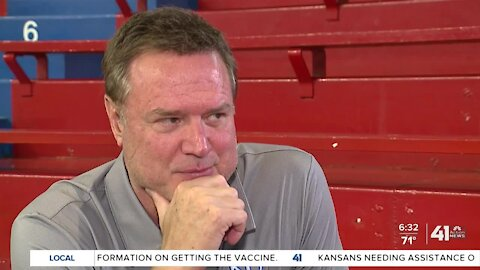 KU's Bill Self put a new emphasis on mental health during COVID-19 pandemic