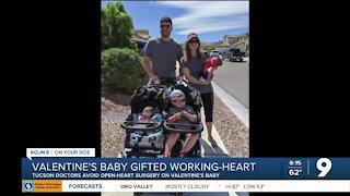 Tucson doctors avoid open-heart surgery on Valentine's baby