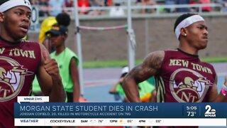 Morgan State student dies in crash