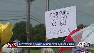 Protesters demand action over border crisis
