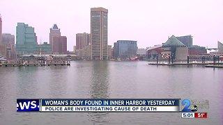 Woman's Body Found In Inner Harbor Saturday
