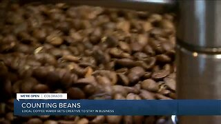Counting beans: Local coffee maker gets creative to stay in business