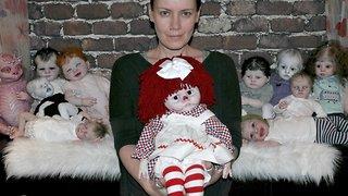 Dollmaker unveils creepy collection of eerily lifelike monster dolls for halloween