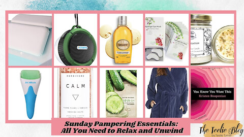 The Teelie Blog | Sunday Pampering Essentials: All You Need to Relax and Unwind | Teelie Turner