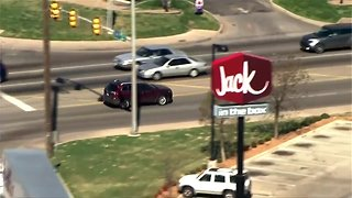 Two taken into custody after unusual police pursuit in Oklahoma City