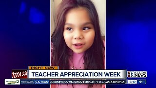 Teacher shoutout from Mikaela
