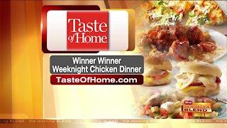 Winner Winner... Weeknight Chicken Dinner!