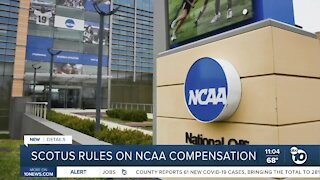 Supreme Court rules on NCAA compensation rules