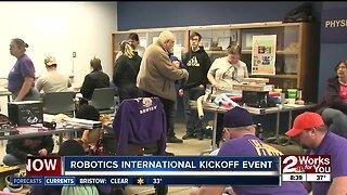 2020 FIRST Robotics competition international kickoff event