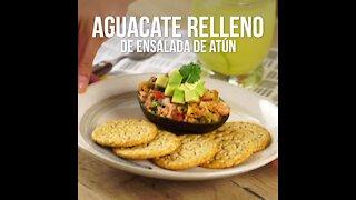 Avocado Stuffed with Tuna Salad