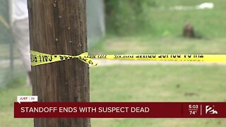 Standoff Ends with Suspect Dead
