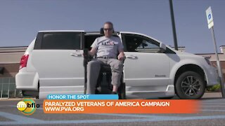 Paralyzed Veterans of America - Honor the Spot Campaign