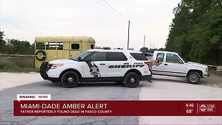 AMBER ALERT: Dad of missing S. Fla. newborn found dead in Pasco, search continues for baby