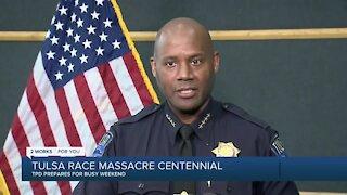 Tulsa police prepare for President Biden's visit amid thousands in town for Race Massacre Centennial