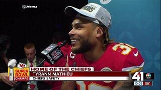 Chiefs S Tyrann Mathieu on Super Bowl defense