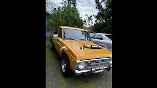 1973 Ford Courier TURBO swap