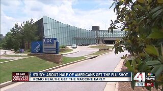 Study: About half of Americans get the flu shot