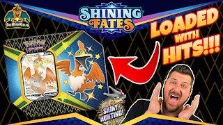 Shining Fates Shiny Cramorant Tin | Shiny Hunting | Pokemon Cards Opening