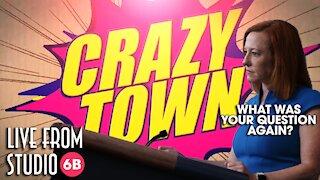 Crazy Town - Jen Psaki Forgets the Question!!