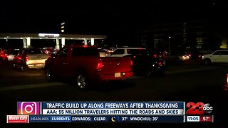 Traffic Build Up after thanksgiving