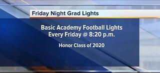 Friday night grad lights