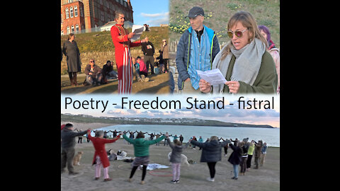 Poetry freedom stand