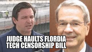 Federal Judge Orders Halt To Florida Tech Censorship Bill