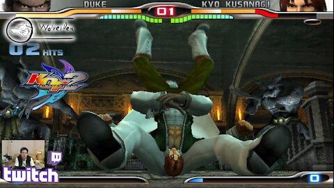 (PS2) KOF Maximum Impact 2 - 23 - Hard Challenges - Level 4