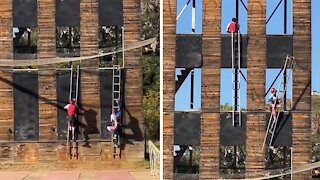 Firesport training for firefighters should be an Olympic sport
