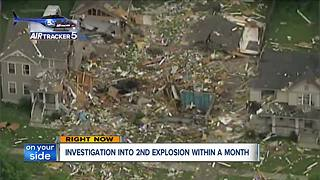 Investigation into second explosion within a month