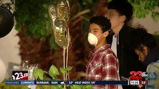 Local Family Celebrates Son's 16th Birthday with Parade