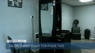 Batavia salon owner ready for region to enter Phase Two