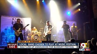 Greater Cincinnati band Friday Giants to play Bunbury Festival
