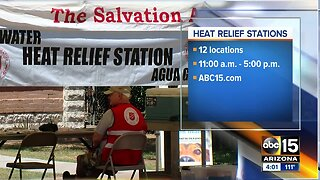 Salvation Army hydration and cooling stations helping thousands across the Valley survive the heat