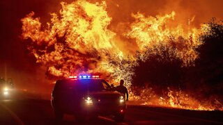 Strong Winds Intensifying California Wildfires