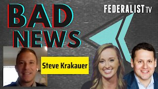 BAD NEWS about Brian Stelter and Andrew Cuomo with special guest Steve Krakauer