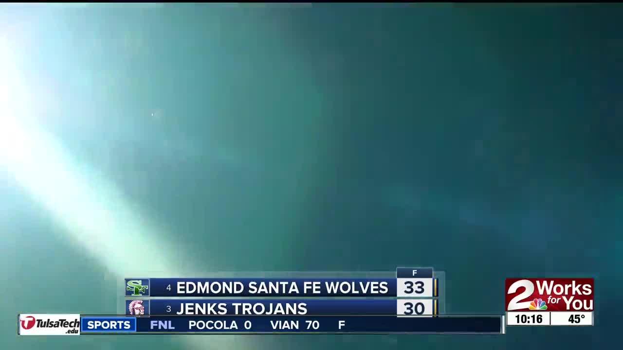 FNL Game of the Week: Edmond Santa Fe Beats Jenks 33-30